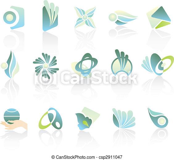 logos, ditta, disegno - csp2911047