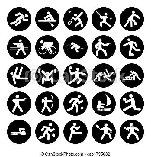logos of sports - csp1735682