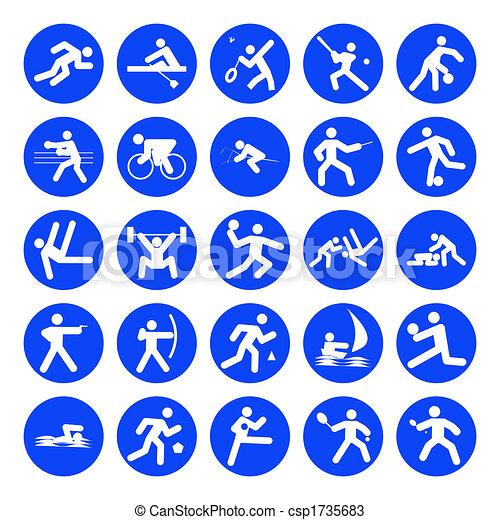 logos of sports - csp1735683