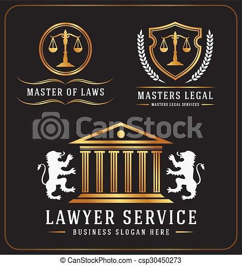Logo de la oficina de abogados - csp30450273