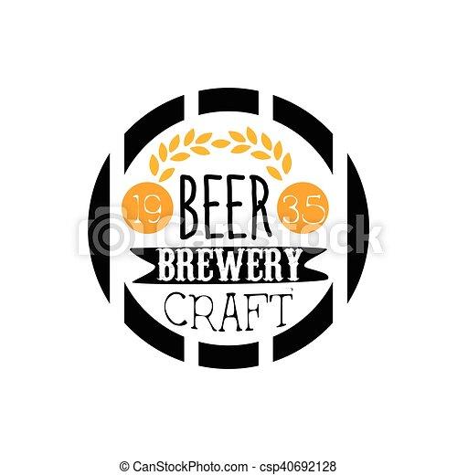 Logotipo Cerveja Desenho Cervejaria Modelo Cervejaria Texto