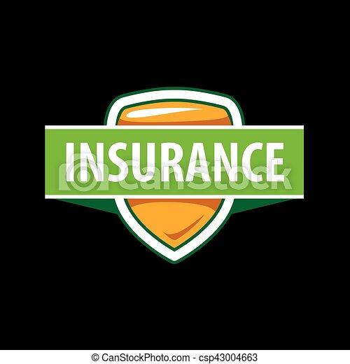 La plantilla de logo de Vector para una compañía de seguros - csp43004663