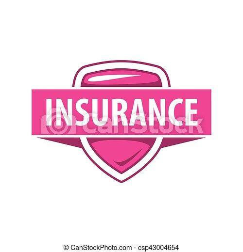 La plantilla de logo de Vector para una compañía de seguros - csp43004654