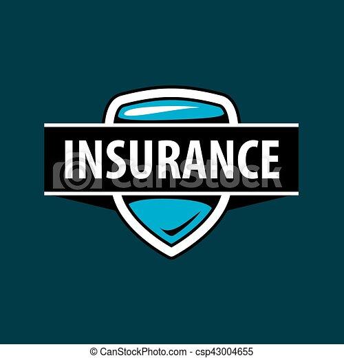 La plantilla de logo de Vector para una compañía de seguros - csp43004655