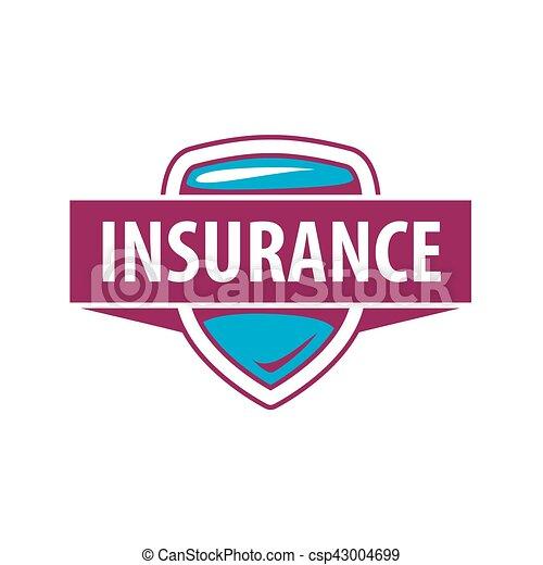 La plantilla de logo de Vector para una compañía de seguros - csp43004699