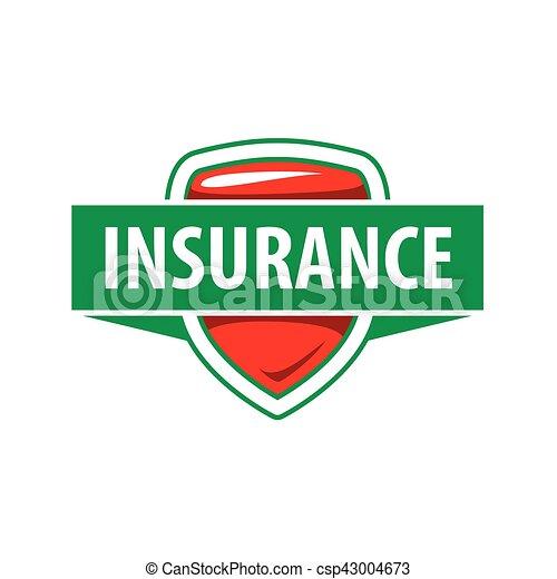 La plantilla de logo de Vector para una compañía de seguros - csp43004673