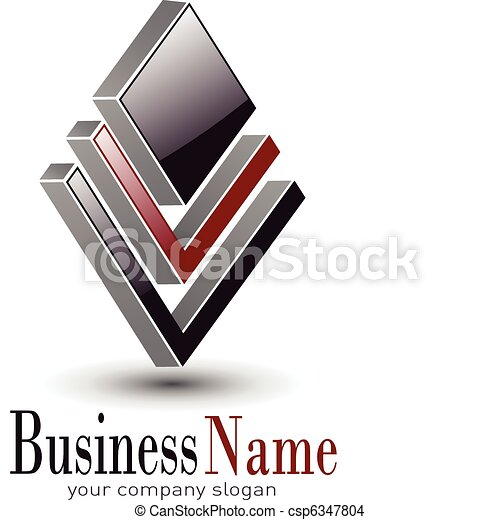 Diseño de logo - csp6347804