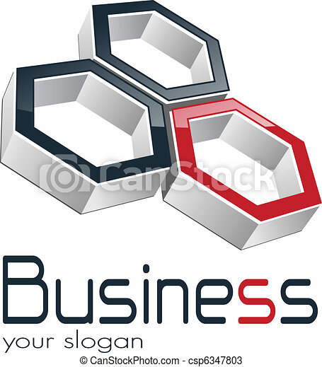 Negocios de Logo - csp6347803