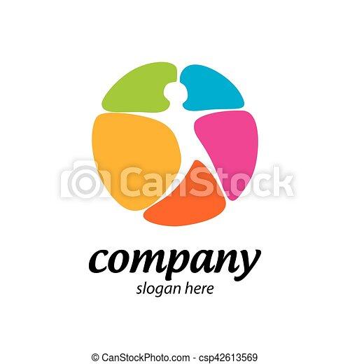 Logo de Star Man - csp42613569