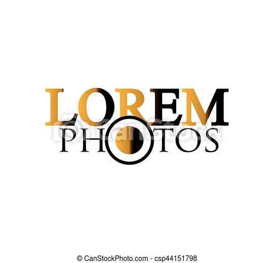 logotipo, fotografia, disegno - csp44151798