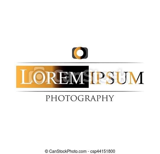 logotipo, fotografia, disegno - csp44151800