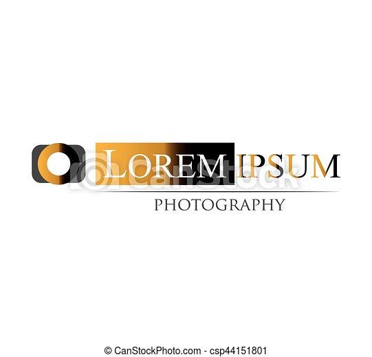 logotipo, fotografia, disegno - csp44151801