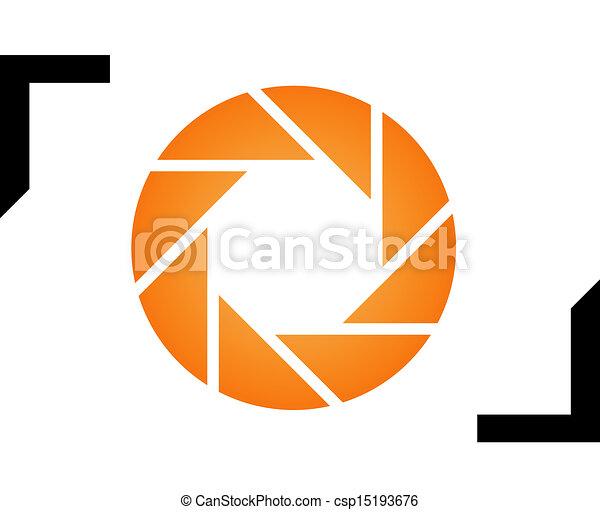 logotipo, fotografia - csp15193676