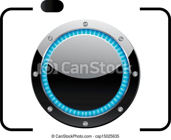logotipo, fotografia, lucido - csp15025635