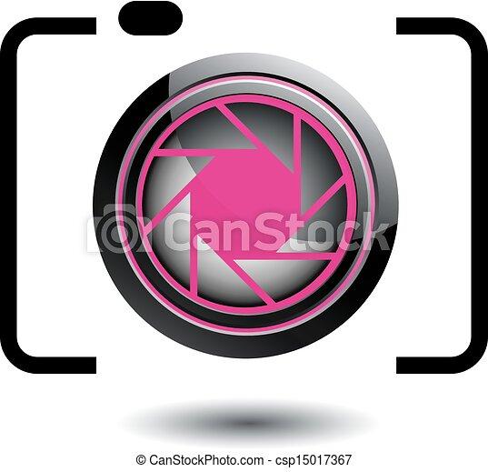 logotipo, fotografia - csp15017367