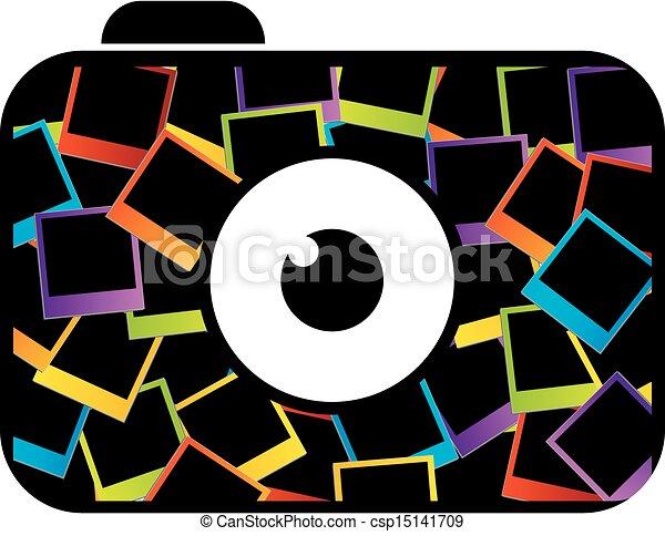 logotipo, fotografia - csp15141709