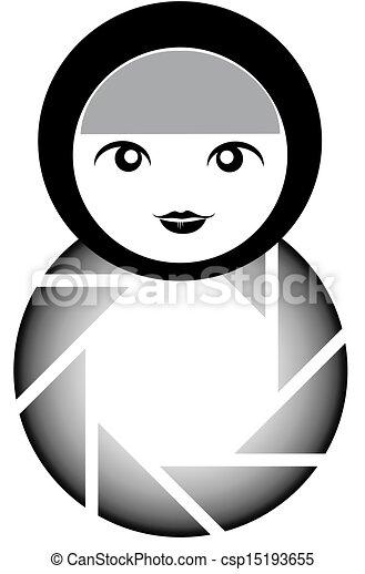 logotipo, fotografia - csp15193655