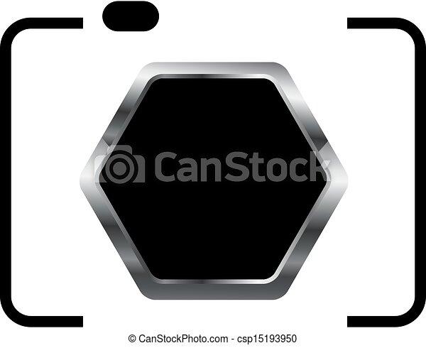 logotipo, fotografia - csp15193950