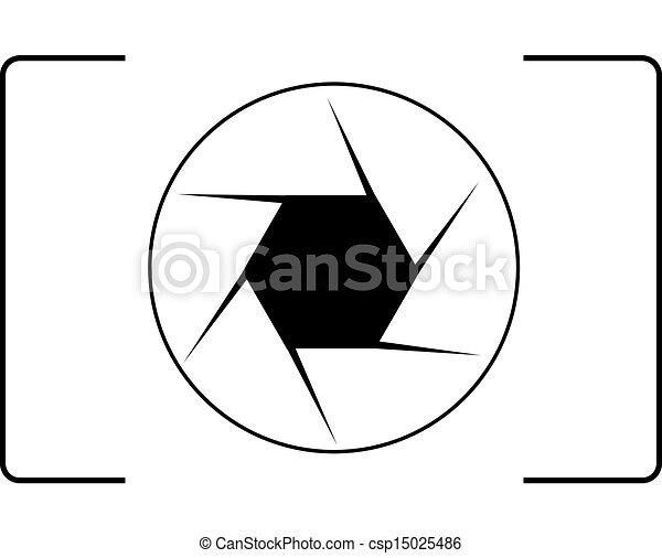 logotipo, fotografia - csp15025486