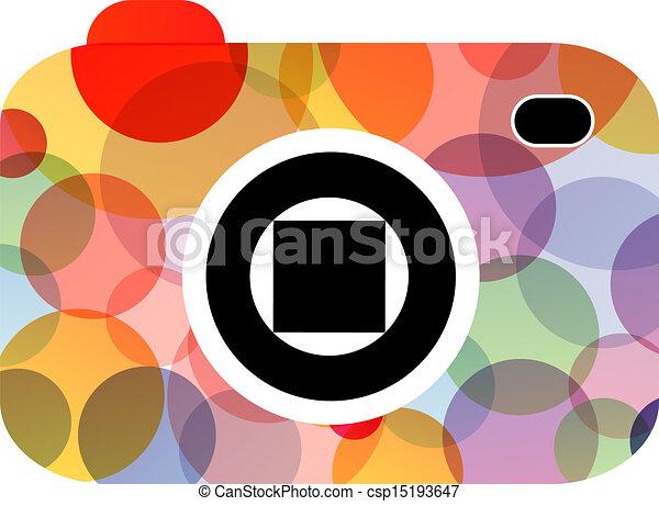 logotipo, fotografia - csp15193647