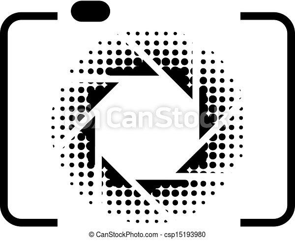 logotipo, fotografia - csp15193980