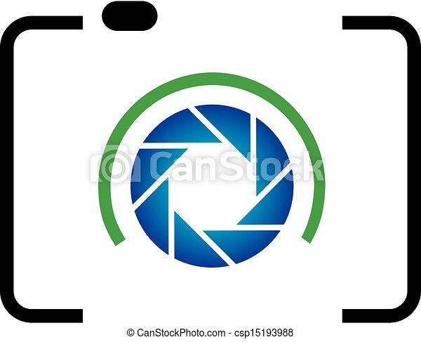 logotipo, fotografia - csp15193988