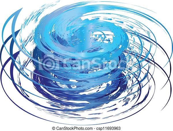 Logo de icono huracán - csp11693963