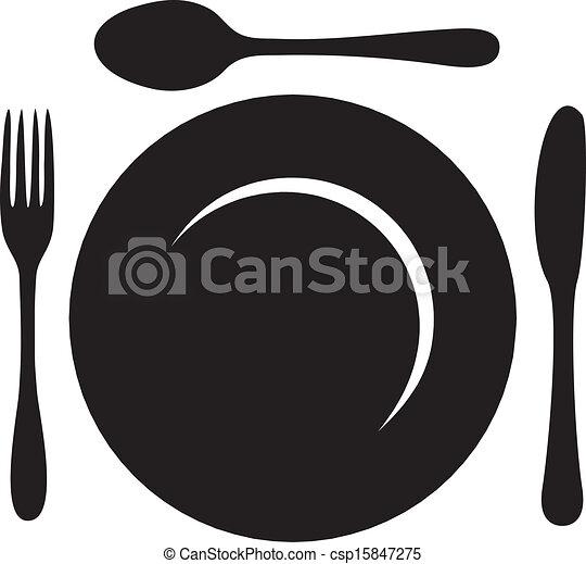 Logotipo del restaurante - csp15847275