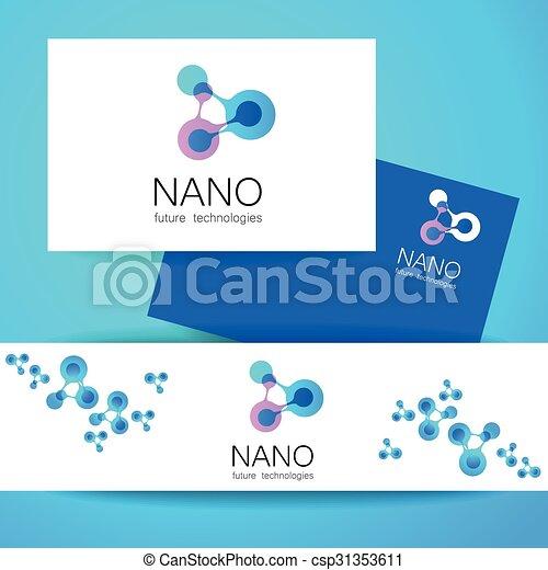 logotipo, nano - csp31353611