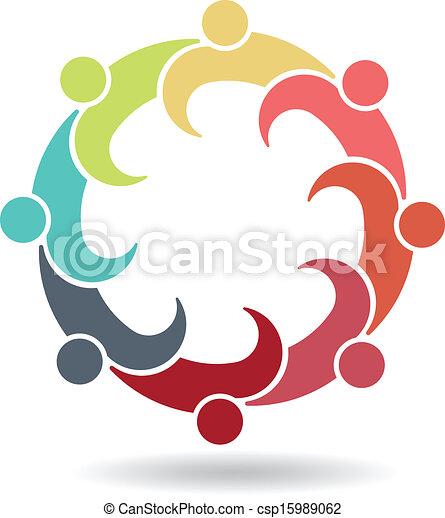 Equipo de reunión de negocios 8 - csp15989062