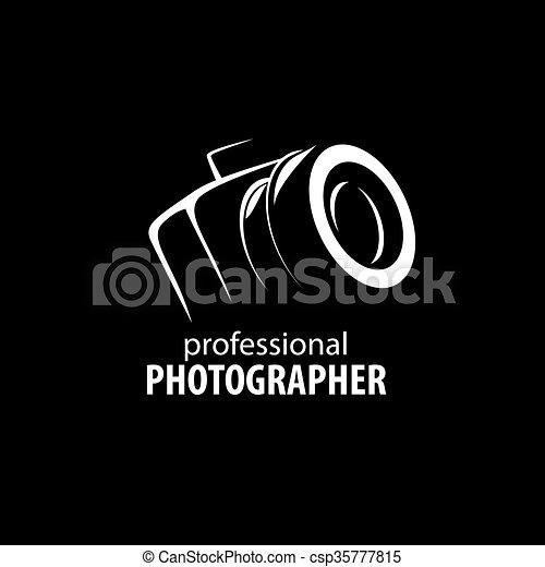 Vector logotipo para fotógrafo - csp35777815