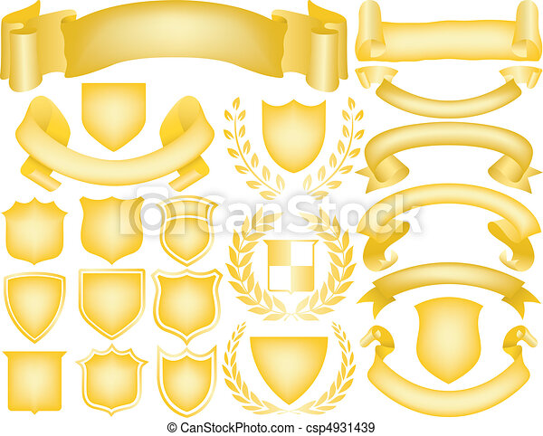 Elementos para logos - csp4931439