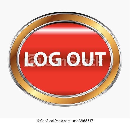 LOGOUT button - csp22985847