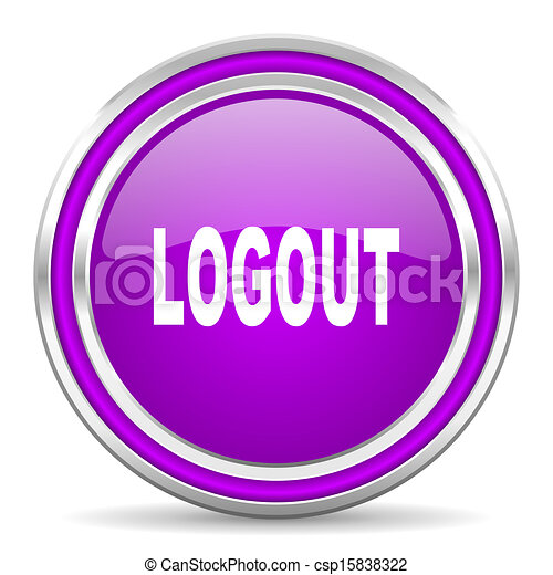 logout icon - csp15838322