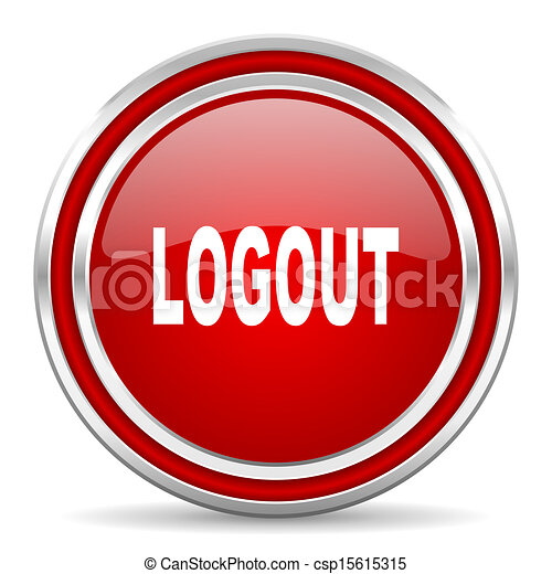 logout icon - csp15615315