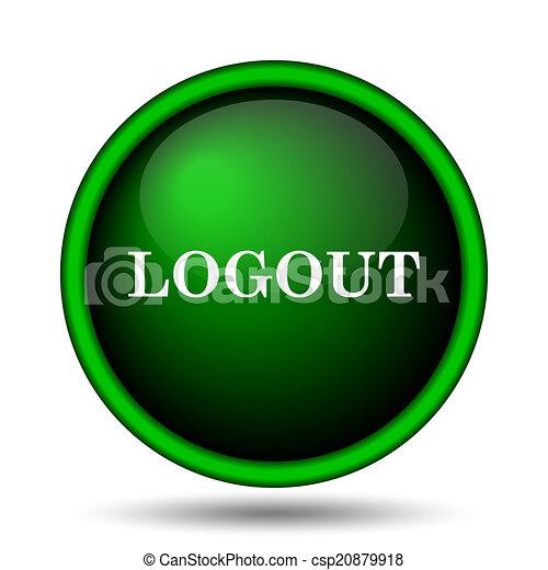 Logout icon - csp20879918