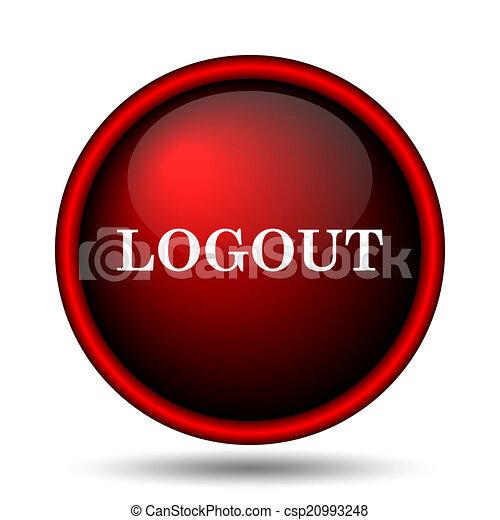 Logout icon - csp20993248
