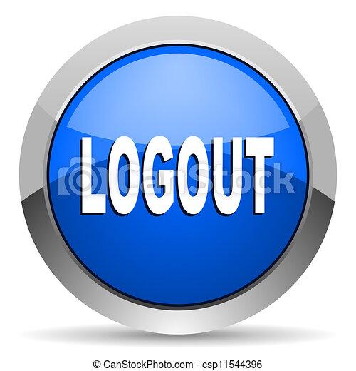 logout icon - csp11544396