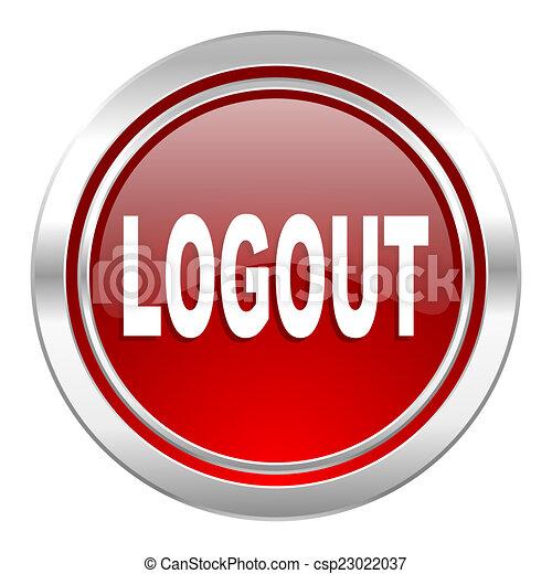 logout icon - csp23022037