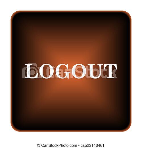 Logout icon - csp23148461