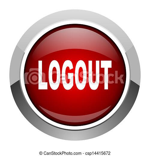 logout icon - csp14415672