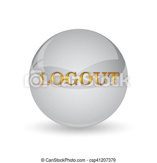 Logout icon - csp41207379