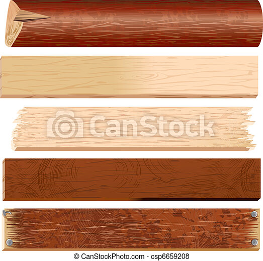 Logs and Planks - csp6659208