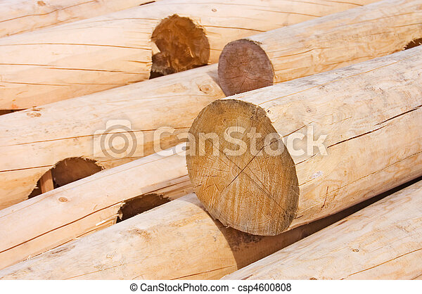 Logs for house building - csp4600808