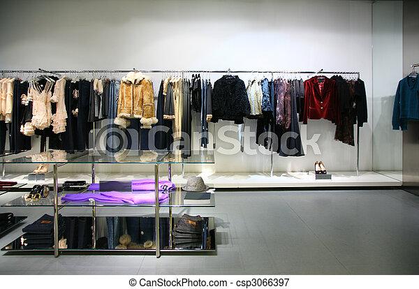 loja, roupas - csp3066397