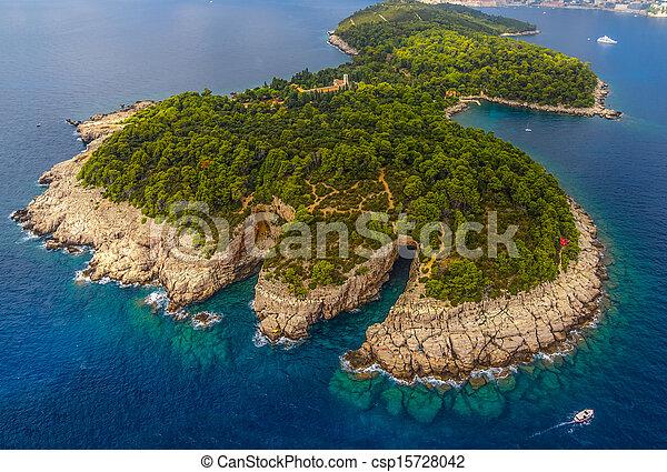 Dubrovnik - lokrum - csp15728042