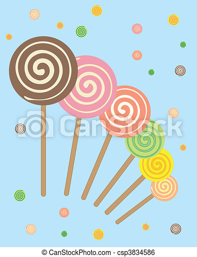 lollipops - csp3834586