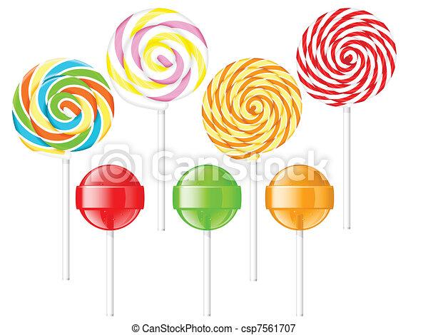 Lollipops - csp7561707