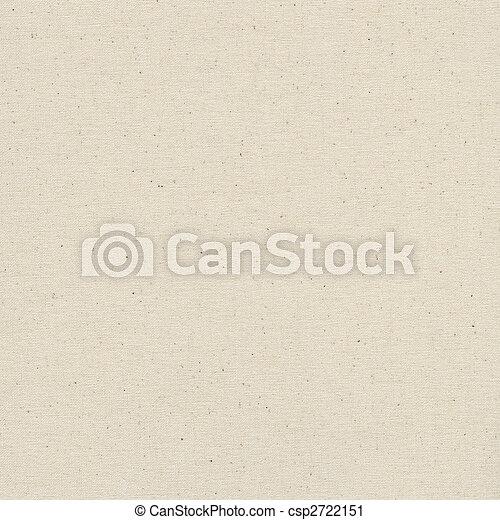 lona, em branco, textura, algodão - csp2722151