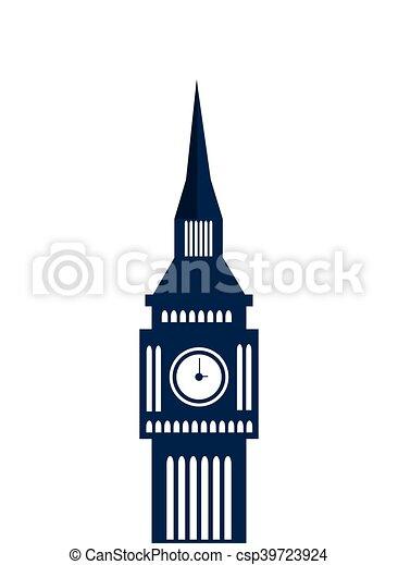 london big ben england design - csp39723924